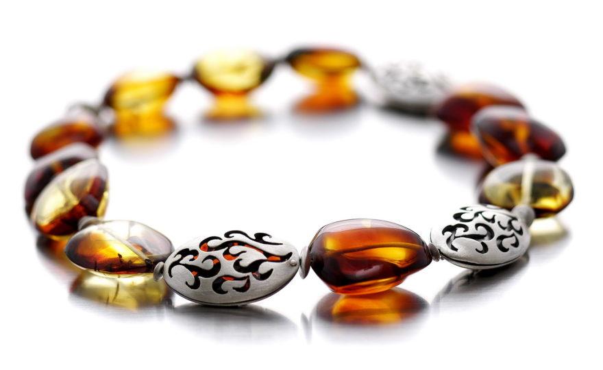 Biżuteria bursztynowa