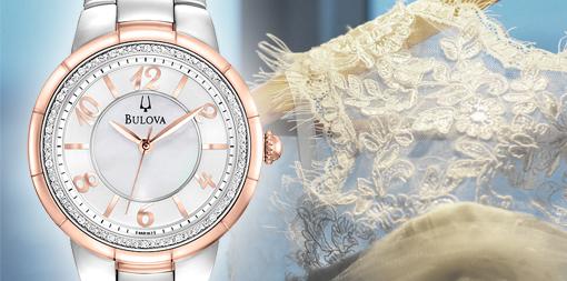 Damski zegarek ślubny