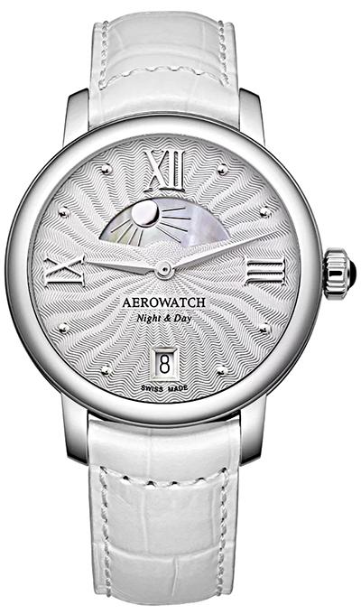 Aerowatch 1942 Mid-Size Night & Day 44960 AA04