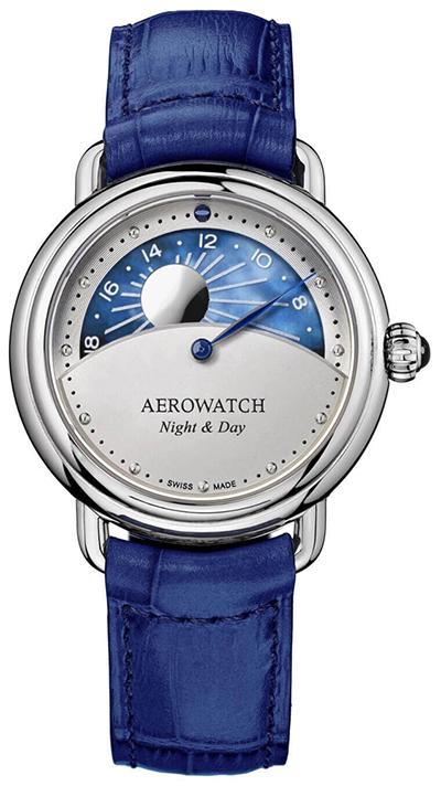 Aerowatch 1942 Night & Day 44960 AA10 zegarek damski