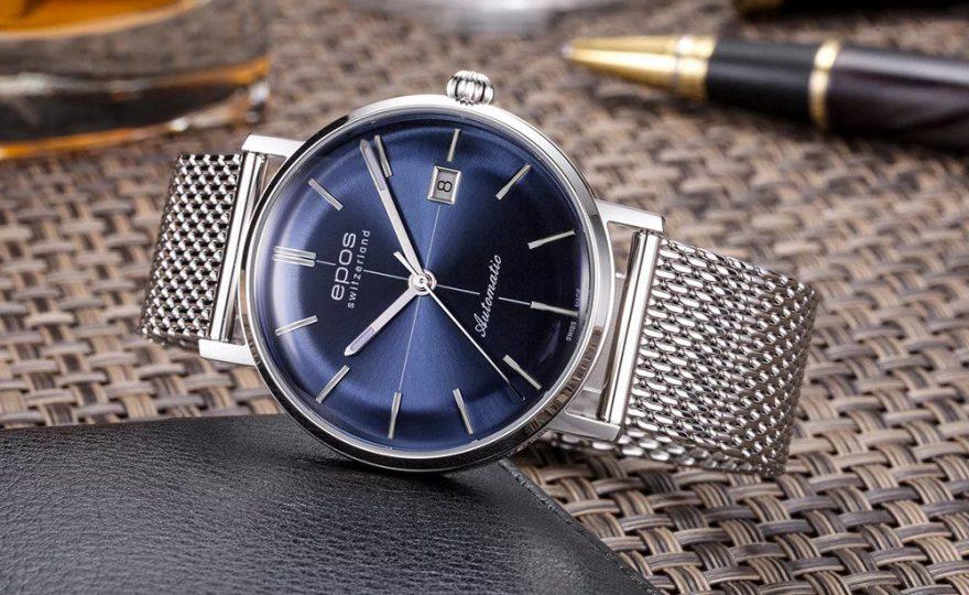Zegarek idealny dla eleganckiego mężczyzny.